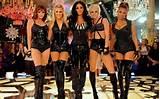 Pussycat Dolls muziek Band meisje zwarte Latex