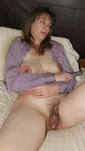 Amateur Brunette harige volwassen Pussy