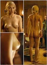 Emilia Clarke 100 naakt op spel van tronen Star Private