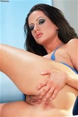 Sexy Brunette boter spreidt haar Pussy Ass Brunette hete Pussy