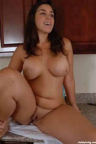 Mollige Brunette grote tieten orgasme CHUBBYLOVING Com 1 voor BBW porno