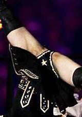 Madonna knippert de Superbowl coherente discussie Opa kut haar