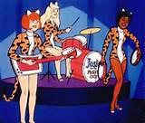 Josie And de Pussy katten Cartoon uit de vroege kindertijd aan begin Tw