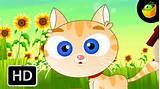 Pussy Cat Pussy Cat Engelse Nursery Rhymes Cartoon geanimeerde Rhymes